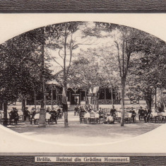 BRAILA , BUFETUL DIN GRADINA MONUMENT, Necirculata, Fotografie
