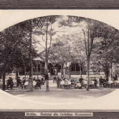 BRAILA, BUFETUL DIN GRADINA MONUMENT - Carte Postala Muntenia 1904-1918, Necirculata, Fotografie