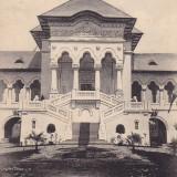 BUCURESTI . EXPOZITIA NATIONALA 1906 . PAVILIONUL REGAL, SCARA DE ONOARE . - Carte Postala Muntenia 1904-1918, Circulata, Printata