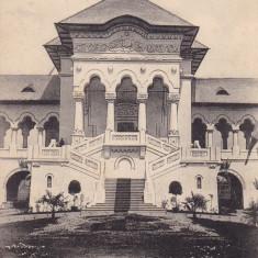 BUCURESTI . EXPOZITIA NATIONALA 1906 . PAVILIONUL REGAL , SCARA DE ONOARE .