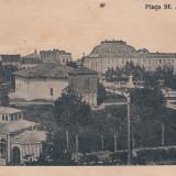 BRAILA, PIATA SF. ARHANGHELI, CIRCULATA 1919, STAMPILA CENZURA - Carte Postala Muntenia dupa 1918, Printata