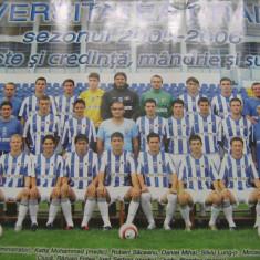 Universitatea Craiova 2005/2006 (poster) - 79x54