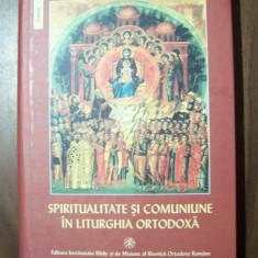 Spiritualitate si comuniune in liturghia ortodoxa - Dumitru Staniloae (2004) - Carti ortodoxe