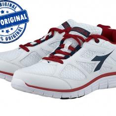 Adidasi barbat Diadora Hawk 2 - adidasi originali - running - adidasi alergare - Adidasi barbati Diadora, Marime: 43, 44, Culoare: Alb, Textil