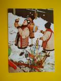 HOPCT 16768  FELICITARE SARBATORI DE IARNA ! COLINDATORI TRADITII [NECIRCULATA]