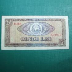 5 LEI 1966 MAI RAR - Bancnota romaneasca