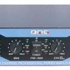 AMPLIFICATOR PROFESIONAL DE PUTERE MARE 900 WATT,BMG PROFESSIONAL AUDIO PM400., peste 200W