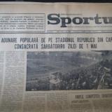 Ziarul Sportul - 2 mai 1973