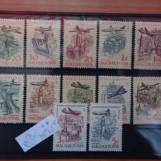 MPDV - Magyar Posta - Timbre Ungaria - Serie 1958 ** nestampilata Aviatie - Timbre straine
