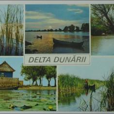 Delta Dunarii,Vedere multipla,necirculata