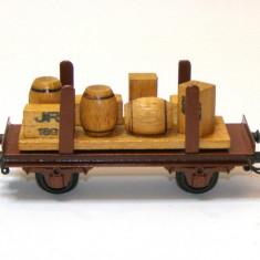 Vagon transport Piko Express scara HO(4143) - Macheta Feroviara Piko, 1:87, Vagoane