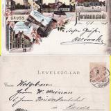 Sibiu- 1898, rara- Litografie