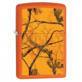 Bricheta Zippo 29130 RealTree Blaze Orange Matte - Bricheta Cu benzina