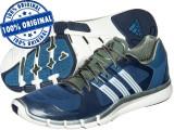 Adidasi barbat Adidas Adipure 360.2 - adidasi originali - running - alergare, 42 2/3, Albastru, Textil