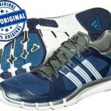 Adidasi barbat Adidas Adipure 360.2 - adidasi originali - running - alergare - Adidasi barbati, Marime: 40 2/3, 42 2/3, Culoare: Albastru, Textil