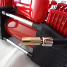 Compresor auto puternic cu 2 cilindri - livrare gratuita