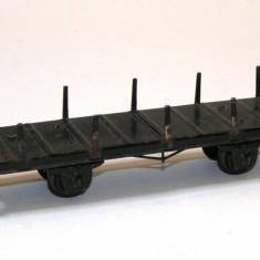 Platforma vintage transport Trix Express scara HO(2007) - Macheta Feroviara Trix, 1:87, Vagoane