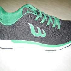 Pantofi sport barbati WINK;cod JS5281-2;marime:41-46 - Adidasi barbati Wink, Marime: 42, 44, 45, Culoare: Gri, Textil