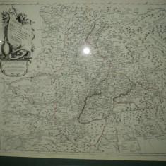 Harta principatului Transilvaniei, P. Santini 1784 - Harta Romaniei