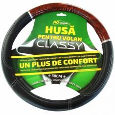 Husa volan piele ecologica Classy RoGroup - Husa Auto