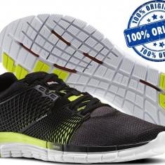 Adidasi barbat Reebok Zquick Dash - adidasi originali - running - alergare - Adidasi barbati Reebok, Marime: 40, Culoare: Negru, Textil