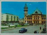 Buzau,Vedere din centru,1971, Circulata, Printata