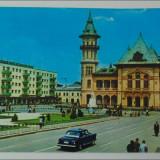 Buzau, Vedere din centru, 1971 - Carte Postala Muntenia dupa 1918, Circulata, Printata