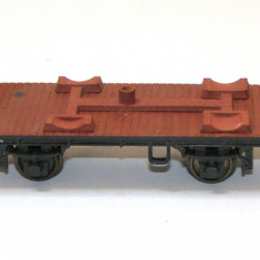 Vagon platforma marca Trix Express / Rivarossi scara HO(3090) - Macheta Feroviara Trix, 1:87, Vagoane