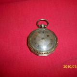 "Ceas de buzunar argint George III tip ""savonette"" sfarsit de secol 18 - Ceas de buzunar vechi"