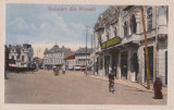 PLOIESTI , SALUTARI DIN PLOIESTI , CIRCULATA AUG.''917, Printata