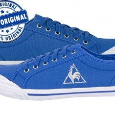 Tenisi barbat Le Coq Sportif Deauville - adidasi originali - tenisi panza - Adidasi barbati Le Coq Sportif, Marime: 38, Culoare: Albastru, Textil