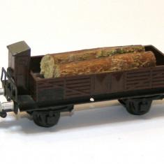 Vagon vintage transport busteni marca Piko Express scara HO(1898) - Macheta Feroviara Piko, 1:87, Vagoane