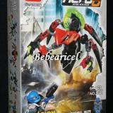 Joc tip HERO FACTORY - robot de lupta cu pilot HERO 6 - model 8608