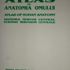 Atlas de anatomia omului sistemul nervos central an 1993/287pag/323 fig.- Ranga