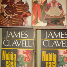 Shogun 2 vol+ Nobila casa 2 vol- James Clavell - Roman