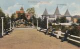 DOROHOI ,PARCUL AURORA , CIRCULATA 1916, Printata, Botosani