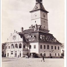 Orasul Stalin (Brasov).Vechea casa a sfatului, 1959 - Carte Postala Transilvania dupa 1918, Circulata, Fotografie