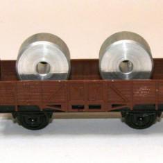 Vagon transport piese Trix Express scara HO(1184) - Macheta Feroviara Trix, 1:87, Vagoane