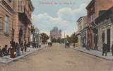 DOROHOI , STR. GR.GHICA V.V.,RESTAURANT , TRASURI , LUSTRAGII, CIRC. AUG.''917, Circulata, Printata, Botosani