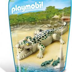 Aligator Cu Pui - Figurina Animale Playmobil