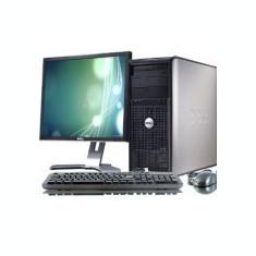 Pachet PC Dell 320, Intel Core 2 Duo E4500, 2.2GHz, 2Gb DDR2, 80Gb, 10395 - Sisteme desktop cu monitor Dell, 2001-2500 Mhz, 40-99 GB, 15 inch