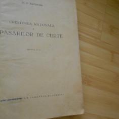 C. BAICOIANU--CRESTEREA RATIONALA A PASARILOR DE CURTE - 1943