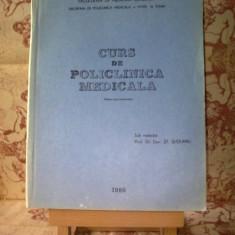 Curs de policlinica medicala