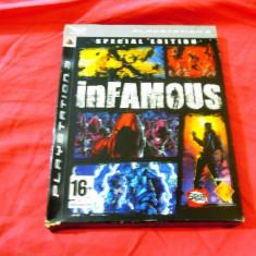 Joc Infamous Special Edition, PS3, original, alte sute de jocuri! - Jocuri PS3 Sony, Shooting, 18+, Single player