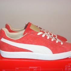 Adidasi Puma Suede Angora X Mi Japan Men's Sneakers 357437-02 nr. 43 - Adidasi barbati Puma, Culoare: Din imagine, Piele intoarsa