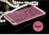 Cumpara ieftin Folie iPhone 6 6S Sticker Diamond Full Body Pink, Alt tip, Apple