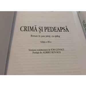 Crima si pedeapsa  - F.M. Dostoievski, RF6/3