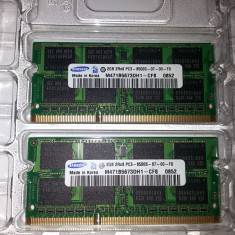 4GB 1066MHz DDR3 SDRAM SO-DIMM Apple Original KIT (2 placute) (iMac) - Memorie RAM laptop