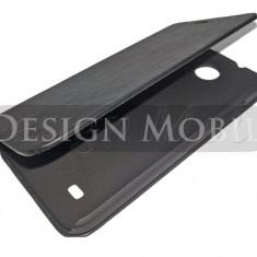 HUSA HTC DESIRE 300 TOC FLIP COVER TIP CARTE NEGRU - Husa Telefon HTC, Piele Ecologica, Cu clapeta