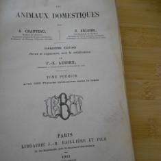 TRATAT DE ANATOMIE COMPARATA A ANIMALELOR DOMESTICE  - 1903 - VOL. I-FRANCEZA